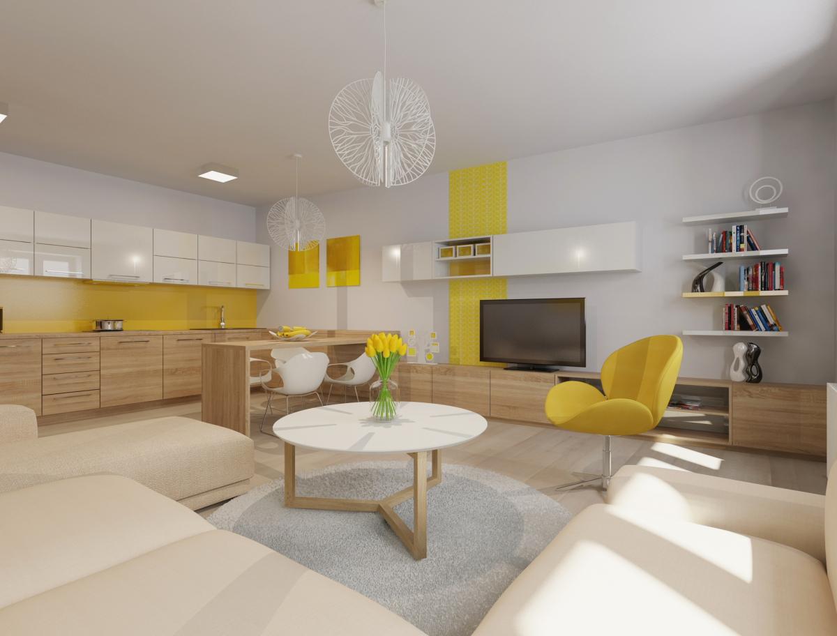 Interiér bytu v brně – žabovřeskách